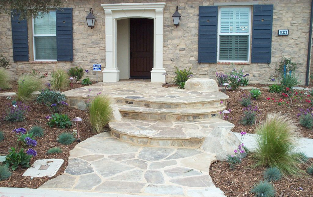 Stone stairs and landscaping contractor