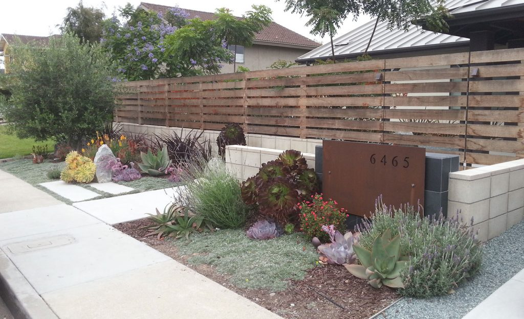 Beautiful front yard design modern landscaping contractor