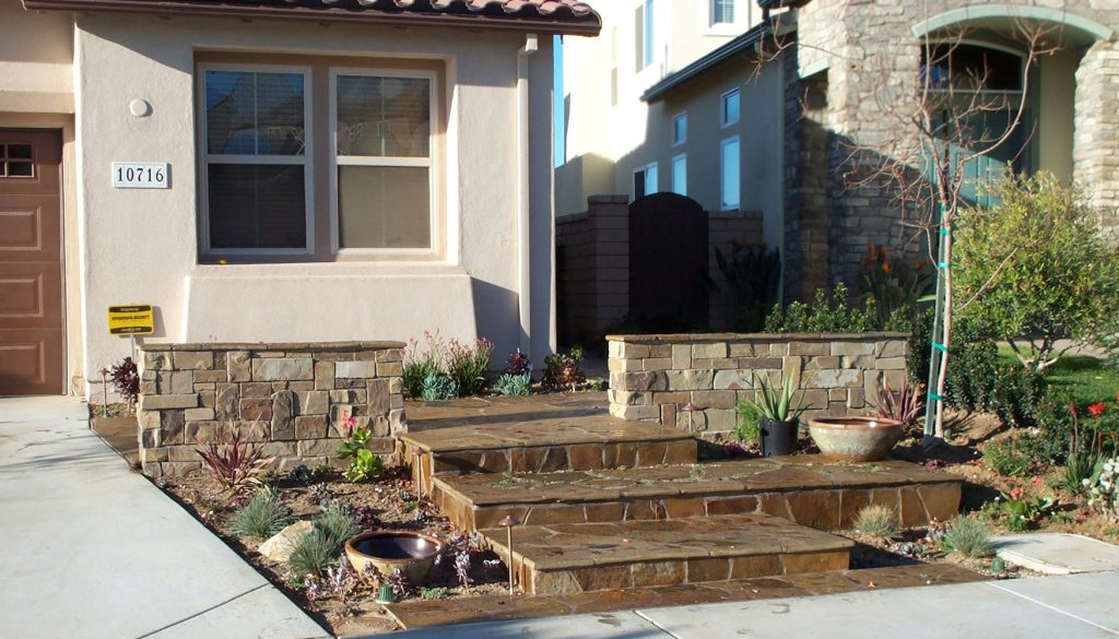 Stone wall and stairs contractor