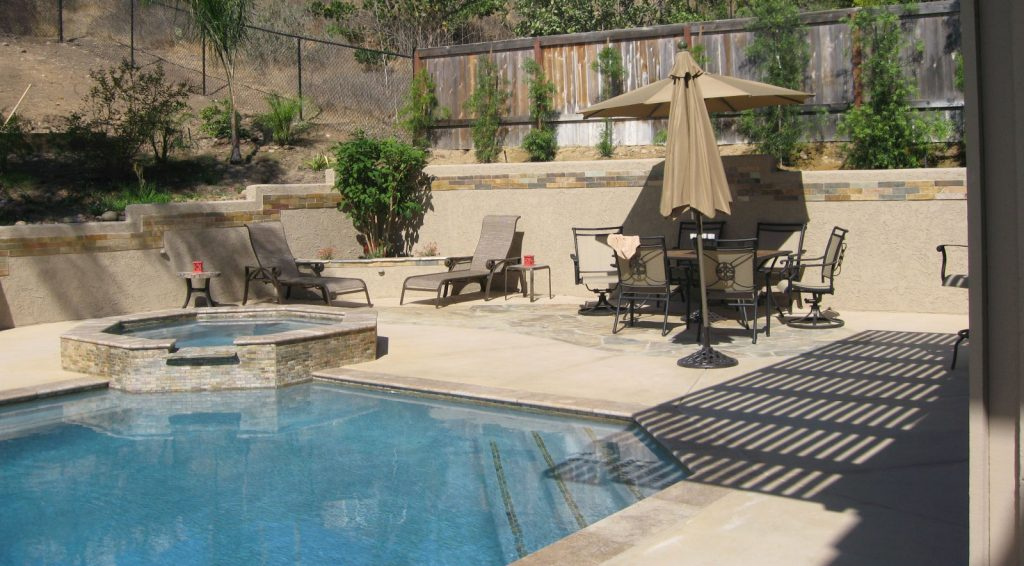 Poolscape landscape and retaining wall contractor