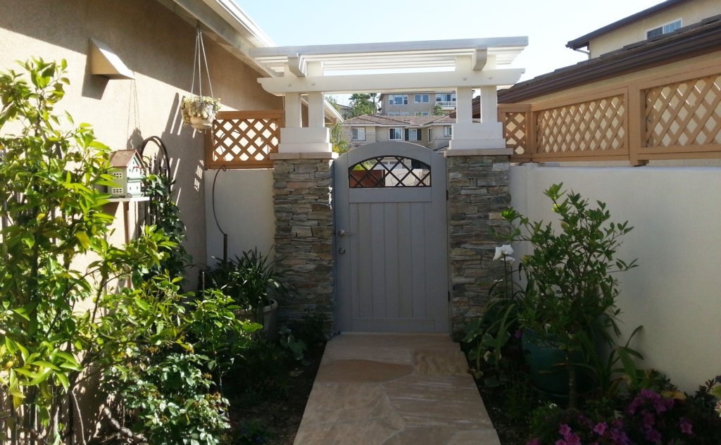 Fence, gate and pergola design and construction